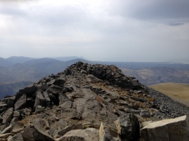Elidir Fawr - Summit