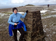 Ingleborough - At the Summit