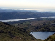 Levers Water, Coniston and Morecambe Bay
