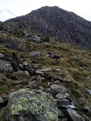 Moel Hebog - Cliffs