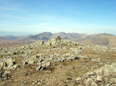 Scafell Pikes from Grey Friar