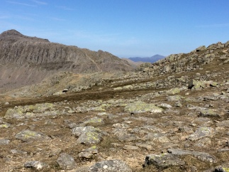 Bowfell from Crinkle Crags