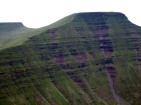 Pen y Fan from Cribyn