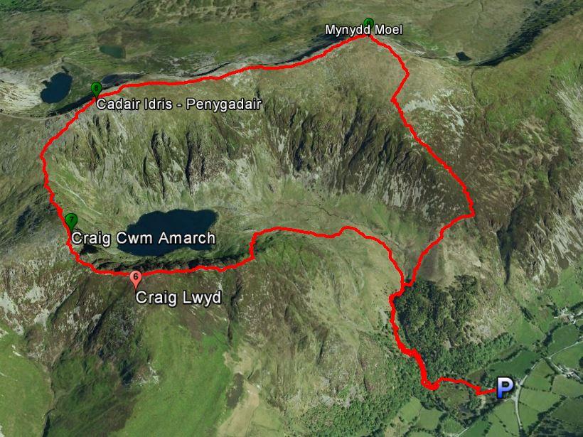 Cadair Idris Route