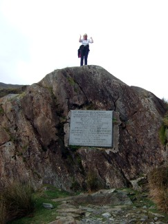 Preaching from Gladstone's Rock